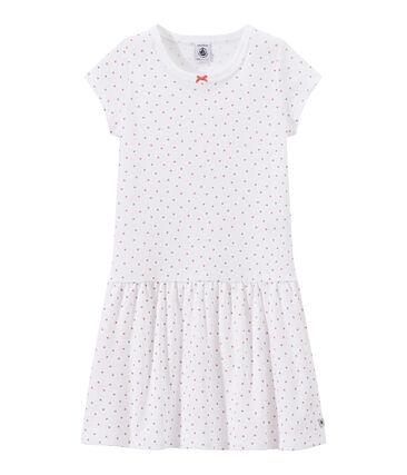 Mädchen-Nachthemd mit Herzchen-Print