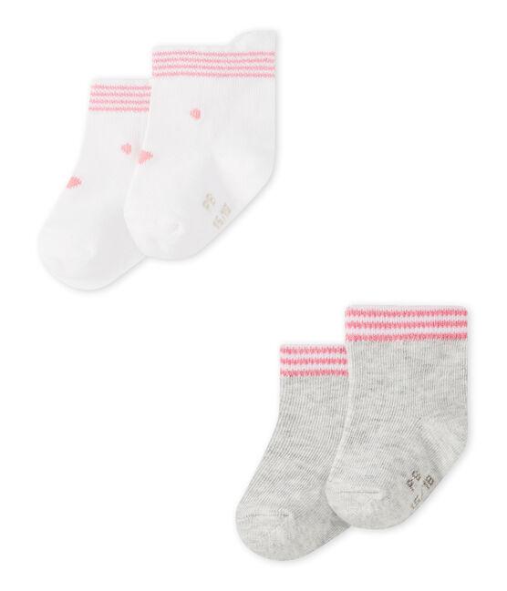 Unisex-Baby-Socken im 2er-Set lot .