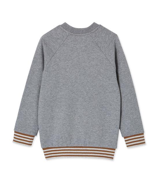 Jungen Sweatshirt grau Subway