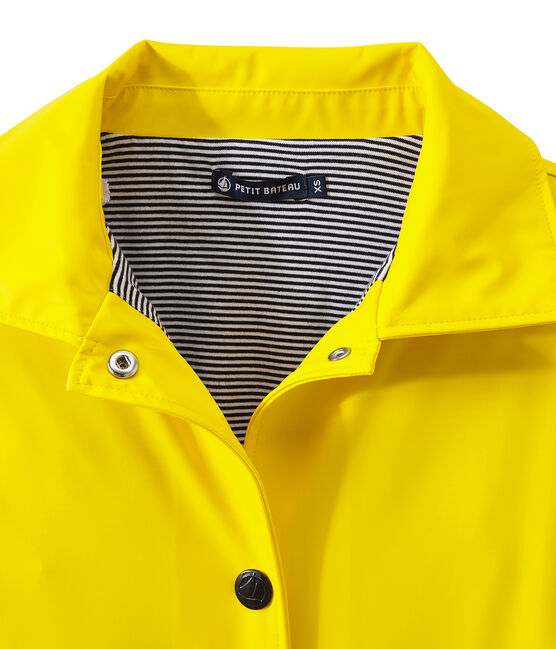 Damen-Regenjacke im City-Look gelb Jaune
