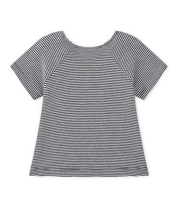 Gestreiftes Baby-Mädchen-T-Shirt