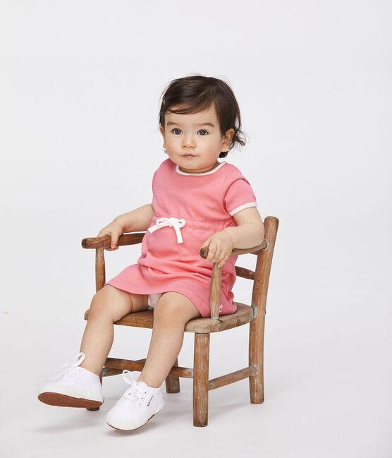 Kurzärmeliger Baby-Body für Mädchen rosa Cupcake