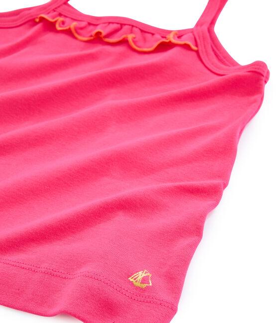 Kinder-Tanktop für Mädchen rot Geisha
