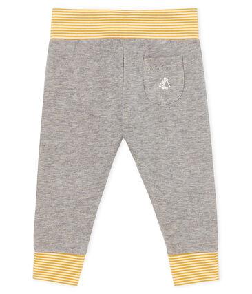 Baby-Hose aus Doppeljersey grau Subway