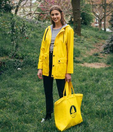 Emblematische Tragetasche gelb Jaune
