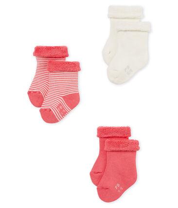 3er-Set baby-strümpfe unisex lot .