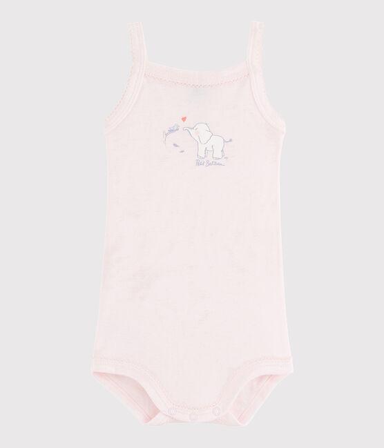 Baby-Trägerbody Mädchen rosa Vienne