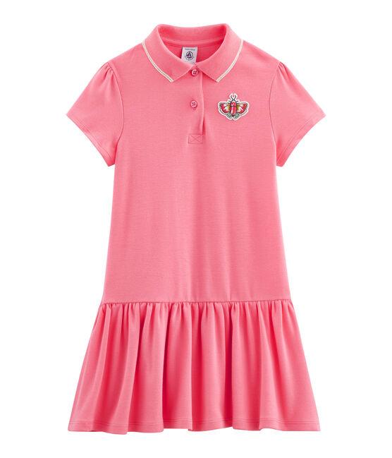 Kinder-Kleid für Mädchen rosa Cupcake