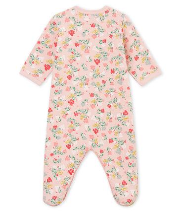Baby MädchenStrampler rosa Joli / weiss Multico