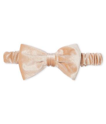 Haarband für Mädchen rosa Fleur