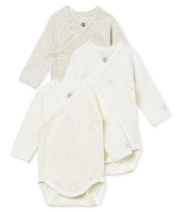 2er-Set langärmelige bodys für neugeborene unisex
