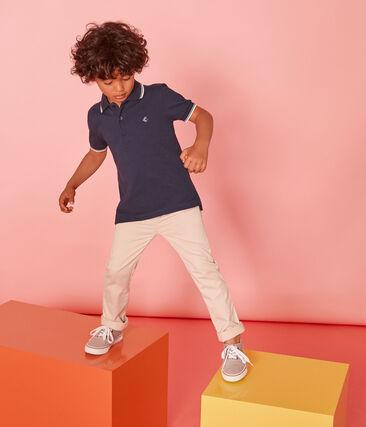 Kurzärmeliges Kinder-Polohemd Jungen