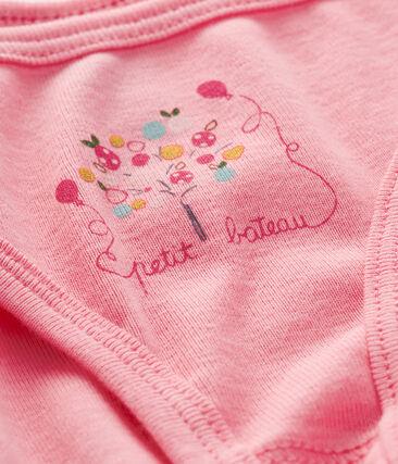 Unterhose für kleine Mädchen rosa Petal