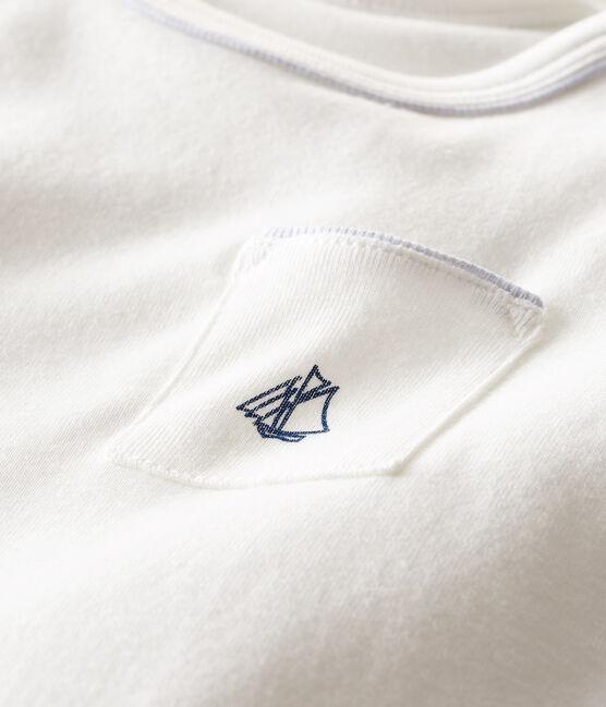 Tee shirt manches courtes bébé garçon weiss Marshmallow Cn