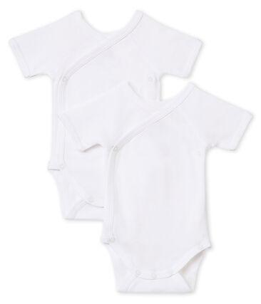 Duo kurzärmelige Neugeborenen-Baby-Bodys Unisex