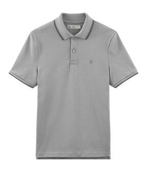 Poloshirt für Herren grau Subway