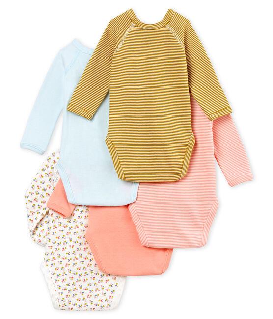 5er-Set Baby-Bodys für neugeborene Mädchen lot .