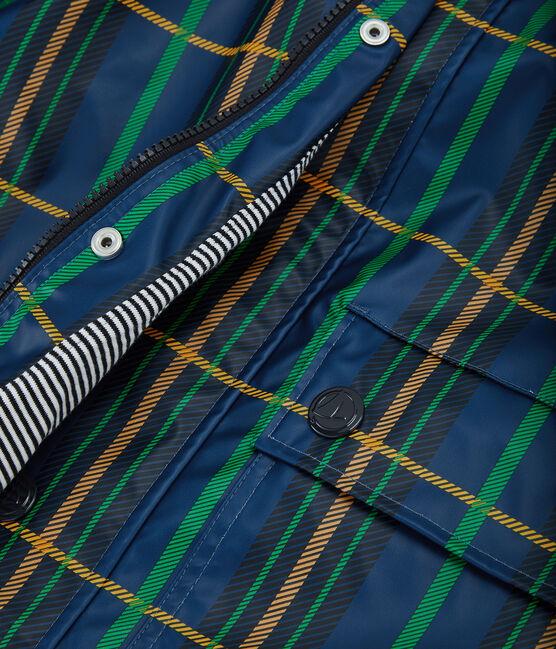 Regenjacke unisex blau Limoges / weiss Multico