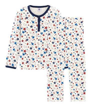 Pyjama aus Doppeljersey für kleine Jungen