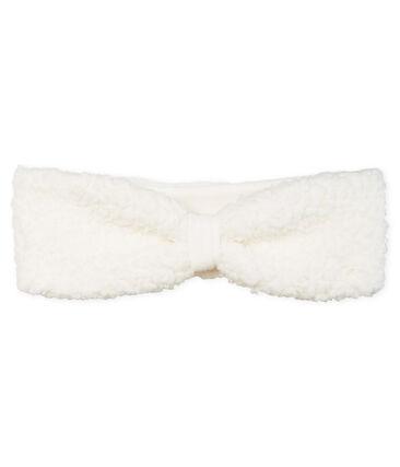 Baby-Haarband für Mädchen weiss Marshmallow