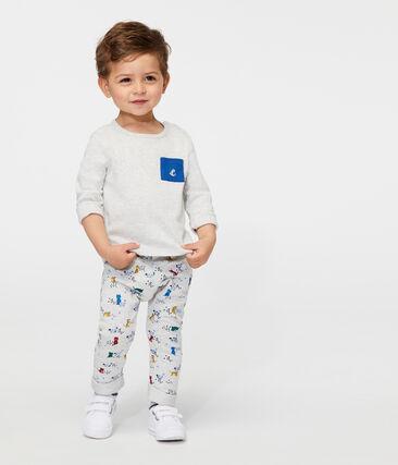2er-Set langärmelige Baby-T-Shirts für Jungs