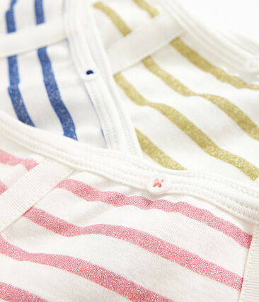3er-Set Unterhosen mit hohem Bund für kleine Mädchen lot .