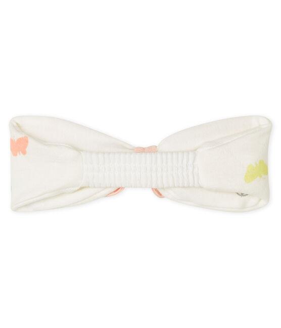 Haarband für kleine Mädchen weiss Marshmallow / weiss Multico