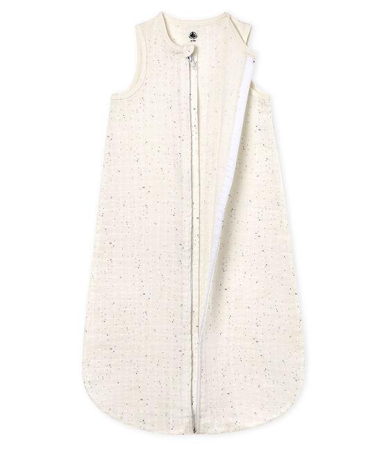 Leichter baby-schlafsack unisex weiss Marshmallow / weiss Multico