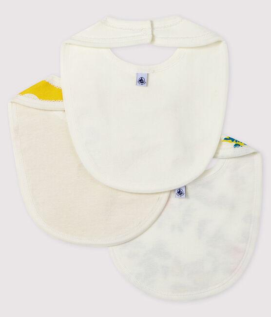 3er-Set Baby-Lätzchen aus Rippstrick für Mädchen lot .