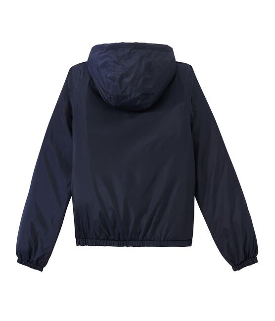 Warme Windjacke unisex blau Smoking