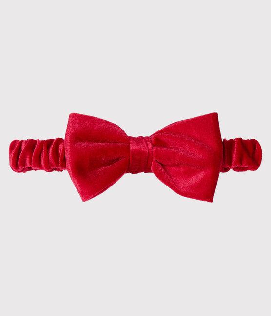 Kinder-Stirnband für Mädchen rot Terkuit