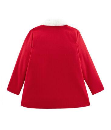 Mantel für Mädchen rot Froufrou