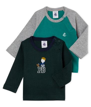 Zwei Baby Jungen T-Shirt im Set