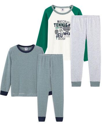 Set aus 2 Pyjamas für kleine Jungen