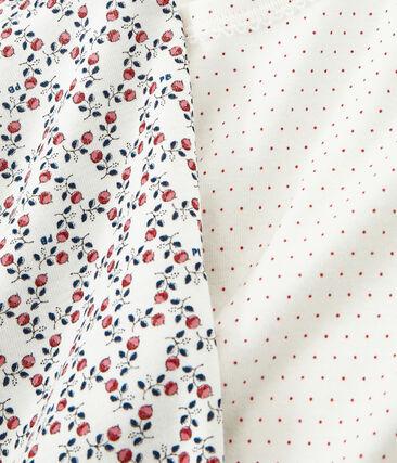 Duo T-Shirts für kleine Mädchen