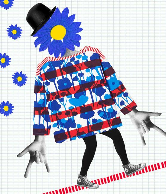 Matrosenshirt in einer Hyères-Neuauflage für Damen weiss Lait / weiss Multico