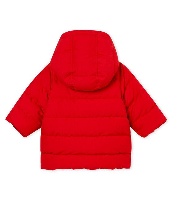 Baby Jungen Winterjacke aus Mikrofaser rot Terkuit