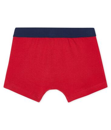 Boxershorts für kleine Jungen rot Terkuit