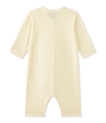 Baby-Mädchen-Strampler ohne Fuß mit Milleraies-Ringelmuster