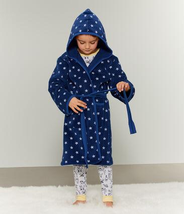 Morgenmantel aus Fleece für Kinder