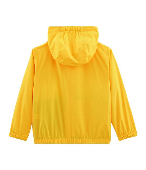 Kurze Kinder-Windjacke für Jungen gelb Jaune / weiss Multico