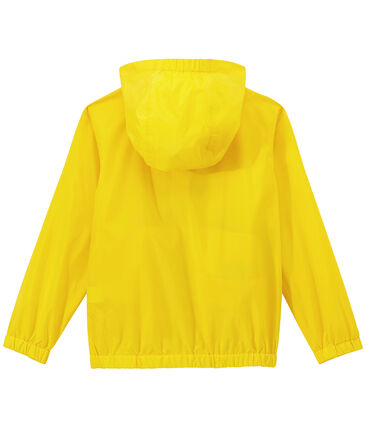 Kinder-Windbreaker gelb Jaune