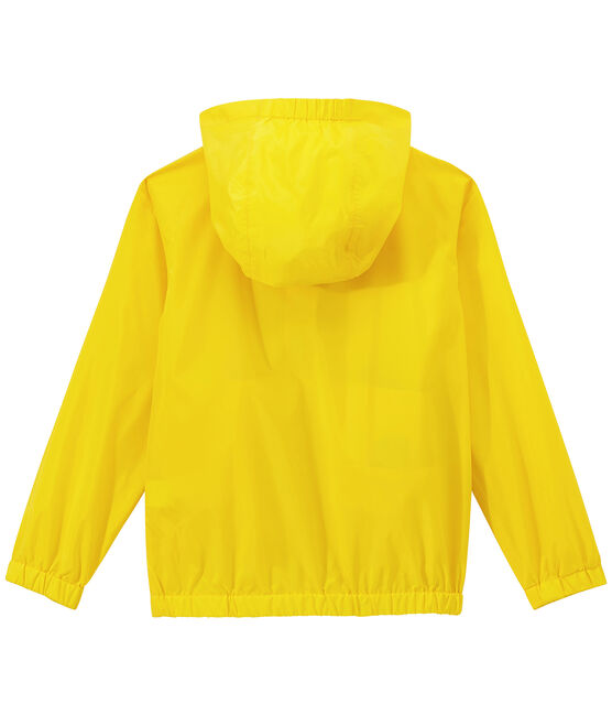 Kinder-Windbreaker gelb Jaune