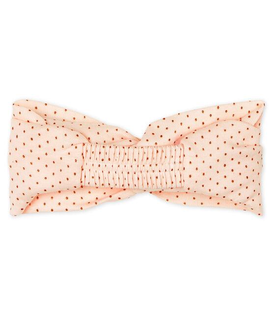 Haarband für kleine Mädchen rosa Fleur / rosa Copper