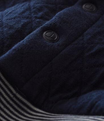 Gesteppter Baby Jungen Cardigan aus gedoppeltem Jersey