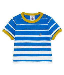 Kurzärmeliges gestreiftes baby-t-shirt jungen