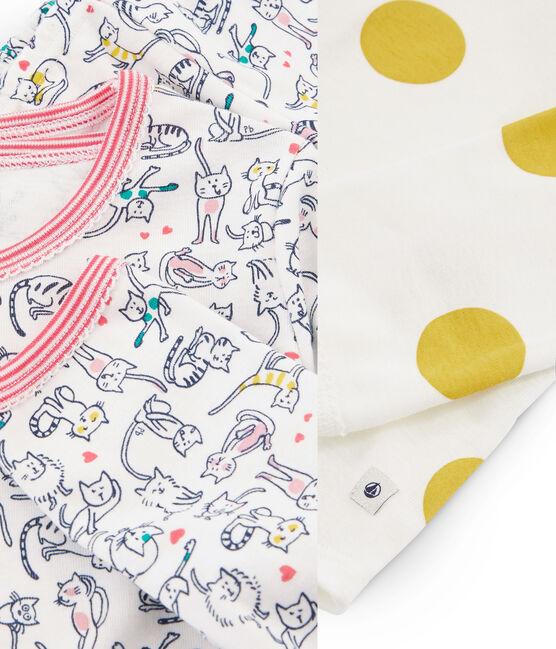 2er-Set Rippstrick-Pyjamas für Mädchen lot .
