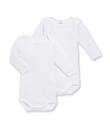 Zweier-Set langärmlige Baby-Bodys