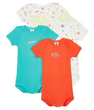 5er-Set kurzärmelige Baby-Bodys für Jungen lot .