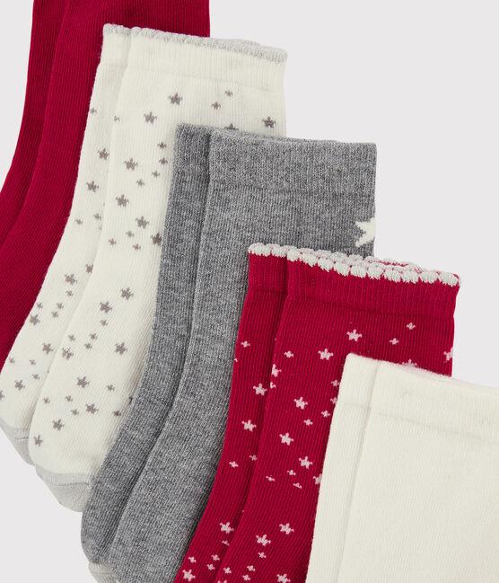 Set mit Socken für Mädchen lot .